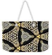 Zebra Iv Weekender Tote Bag