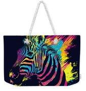 Zebra Splatters Weekender Tote Bag