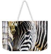 Zebra Zee Weekender Tote Bag