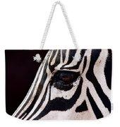 Zebras Eye Weekender Tote Bag