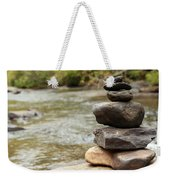 Zen At The Water Weekender Tote Bag
