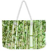 Zen Bamboo Forest Weekender Tote Bag