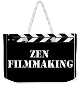 Zen Filmmaking Weekender Tote Bag