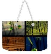 Zen For You Weekender Tote Bag by Susanne Van Hulst