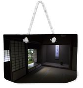 Zen Tea Room Of Koto-in Temple -- Kyoto Japan Weekender Tote Bag