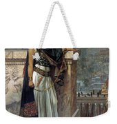 Zenobia's Last Look On Palmyra Weekender Tote Bag by Herbert Gustave Schmalz