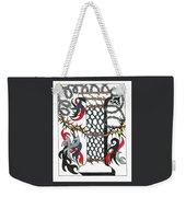 Zentangle Inspired I #1 Weekender Tote Bag