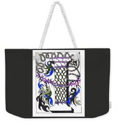 Zentangle Inspired I #2 Weekender Tote Bag