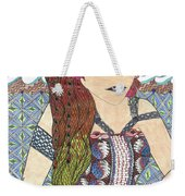 Zentangle Queen  Weekender Tote Bag