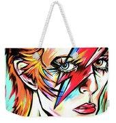 Ziggy Stardust Weekender Tote Bag