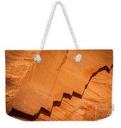 Zigzag Sandstone Weekender Tote Bag