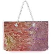 Chrysanthemum Birthday Weekender Tote Bag