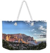 Zion At Sunset #3 Weekender Tote Bag