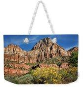 Zion Canyon - Navajo Sandstone Weekender Tote Bag