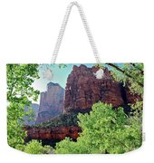 Zion Canyon Red Cliffs Weekender Tote Bag