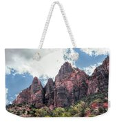 Zion Canyon Terrain Weekender Tote Bag
