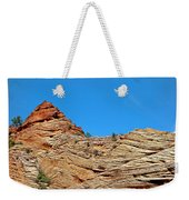 Zion Checkerboard Formations Weekender Tote Bag