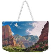 Zion Cliffs Weekender Tote Bag