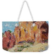 Zion Mountain Cliff Weekender Tote Bag