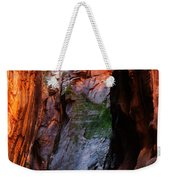 Zion Narrows With Boulder Weekender Tote Bag