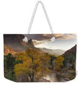 Zion National Park Autumn Weekender Tote Bag
