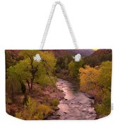 Zion National Park The Watchman Weekender Tote Bag
