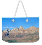 Zion National Park, Valley View Weekender Tote Bag