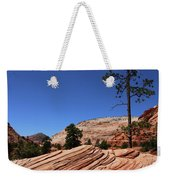 Zion Park Colors And Texture Weekender Tote Bag