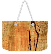 Zion Rock Wall Weekender Tote Bag