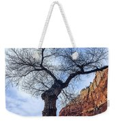 Zion Tree Woman Weekender Tote Bag