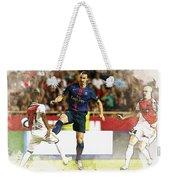 Zlatan Ibrahimovic In Action  Weekender Tote Bag