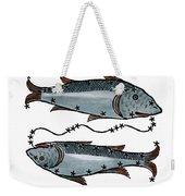 Zodiac: Pisces, 1482 Weekender Tote Bag