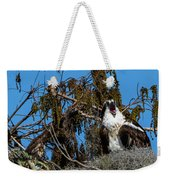 Zombie Osprey Crying For Brains Weekender Tote Bag