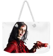 Zombie Shaking Severed Hand Weekender Tote Bag