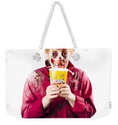 Zombie Woman With Popcorn Weekender Tote Bag