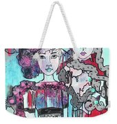 Zoni.girl Haute Couture Weekender Tote Bag