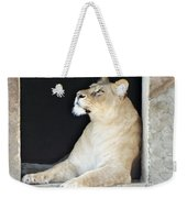 The Queen Of Animals Weekender Tote Bag
