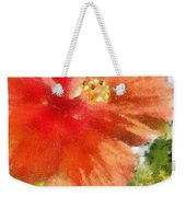 Zoo Flower Weekender Tote Bag