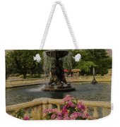 Zoo Fountain 2 Weekender Tote Bag