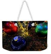 Zoo Lights Ornaments Weekender Tote Bag