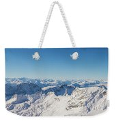 Zugspitze Observatory Panorama Weekender Tote Bag