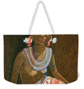 Zulu Woman With Beads Weekender Tote Bag