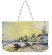 Zurich Sunset- Switzerland Weekender Tote Bag