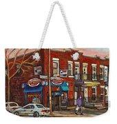 Zytynsky's Deli Rosemont Montreal Weekender Tote Bag
