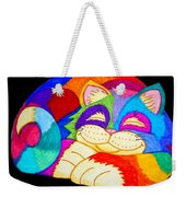 Zzzzzzzzzzzz Cat Weekender Tote Bag