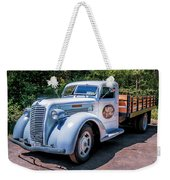 1938 Diamond T Stakebed Truck Weekender Tote Bag