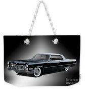 1966 Cadillac Coupe Deville Weekender Tote Bag