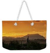 A Golden Sunrise  Weekender Tote Bag
