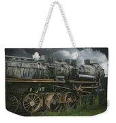 Abandoned Steam Locomotive  Weekender Tote Bag