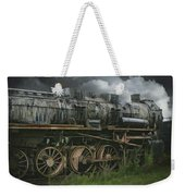 Abandoned Steam Locomotive  Weekender Tote Bag